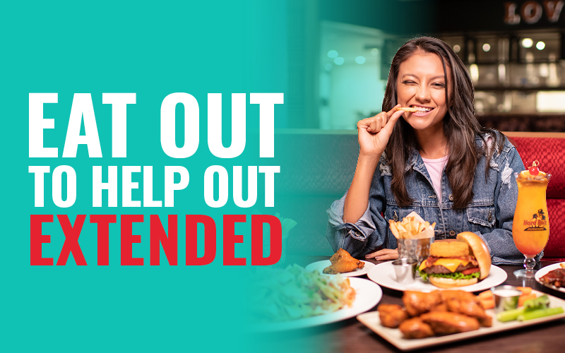 Eat Out To Help Out Campaign Extended