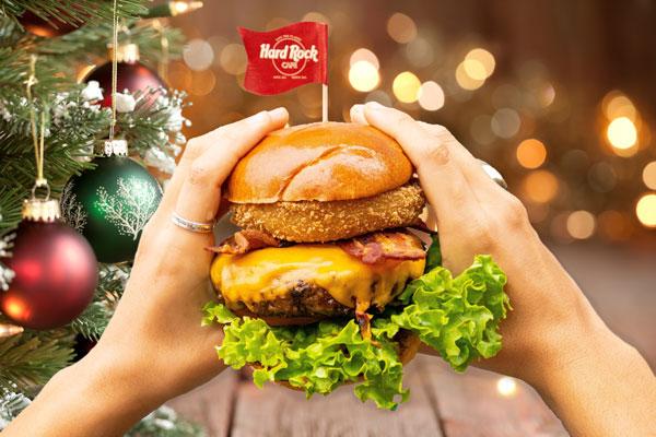 Hard Rock Cafe Legendary Burger