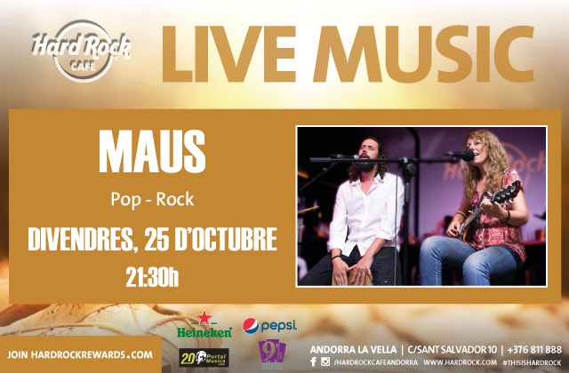Live Music by MAUS