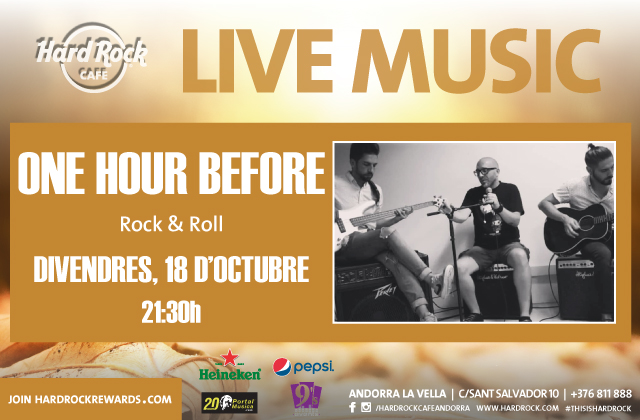 Live Music by One Hour Before