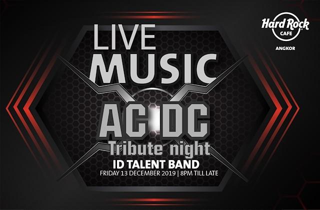 AC/DC Tribute ft ID Talent Band