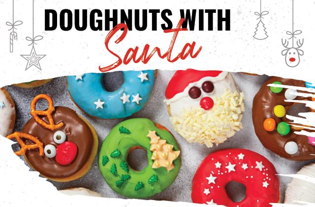 Doughnuts with Santa