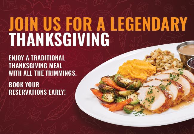 A Legendary Thanksgiving
