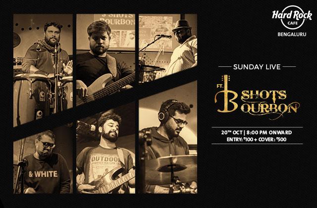 Sunday Live ft. 3 Shots Bourbon