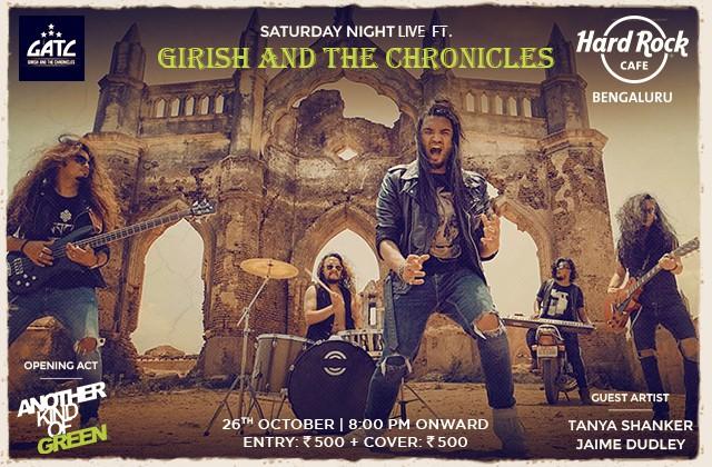 Saturday Night Live ft. Girish and The Chronicles