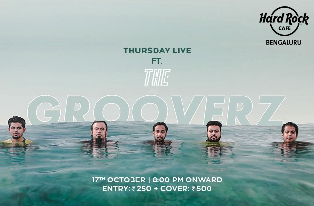 Thursday Live ft. The Groovers