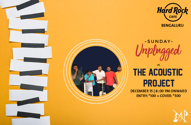 Sunday Unplugged ft. The Acoustic Project