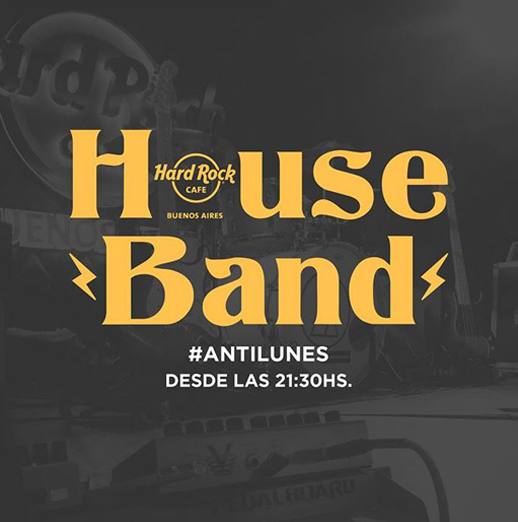 Anti Monday with the HOUSE BAND