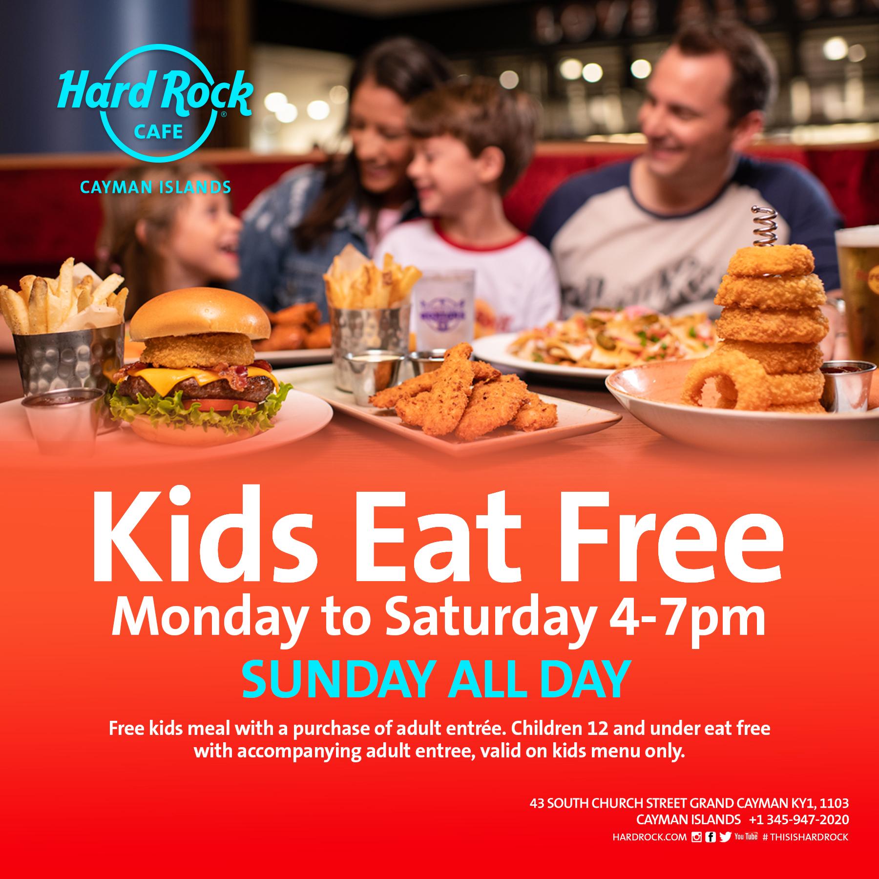 Kids Eat Free 27 Feb 2020