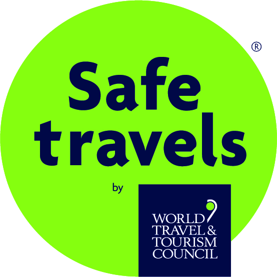 World Travel & Tourism Council Safe Travels stamp