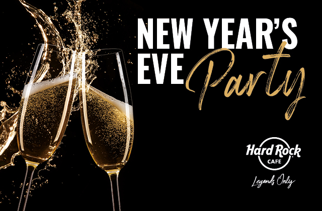 New Years' Eve at Hard Rock Cafe Florence