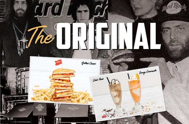 THE ORIGINAL HARD ROCK CAFE MENU