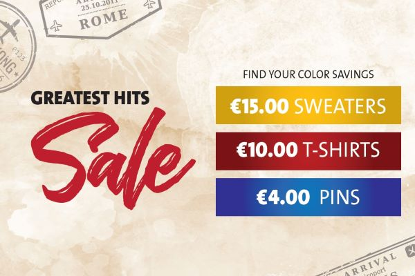 GREATEST HITS SALE !