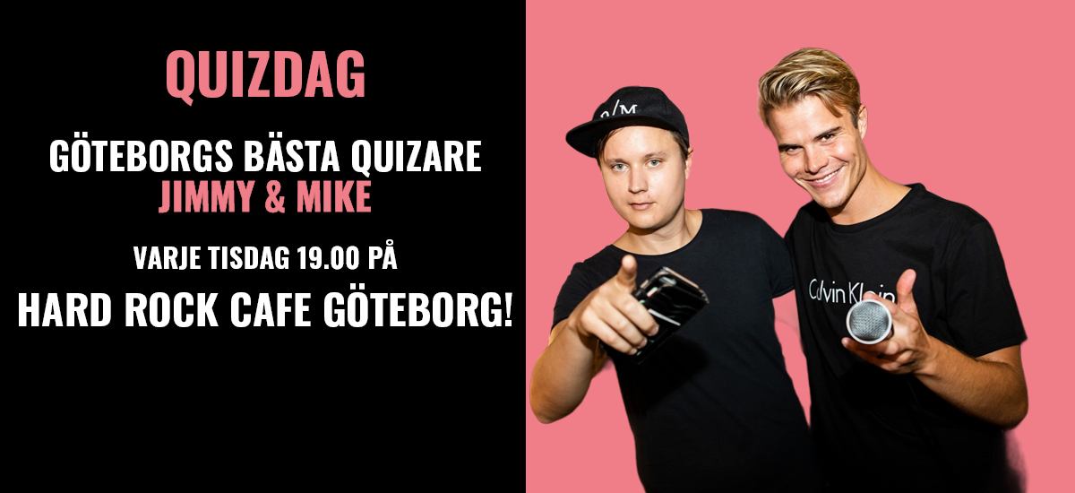 Quizdag with Jimmy And Mike!