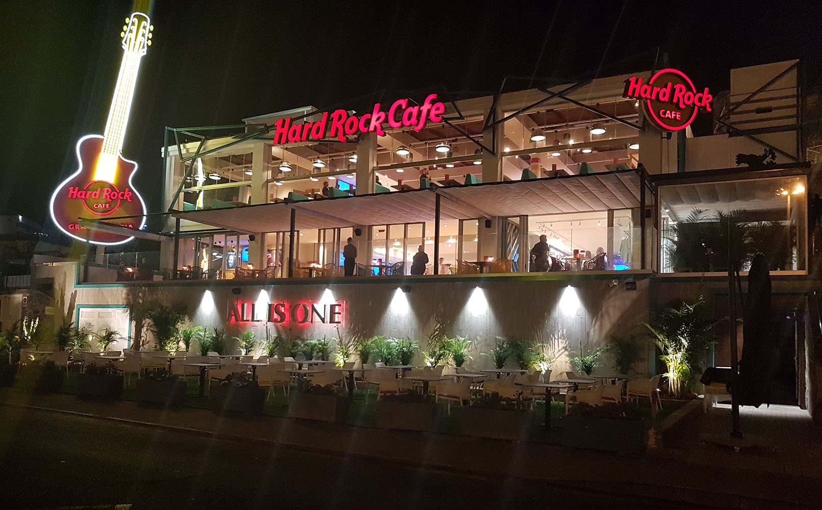 Hard Rock Cafe Gran Canaria Americana Dining In Gran Canaria Spain