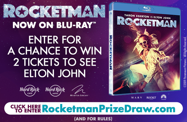 Prize draw: Win tickets to see Elton John!