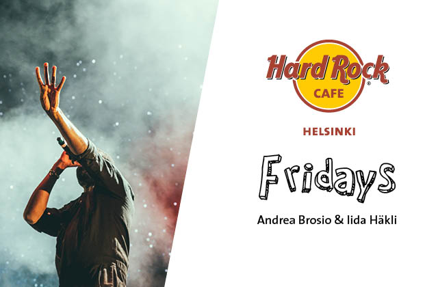 Fridays: Andrea Brosio & Iida Häkli- Night with Queen unplugged