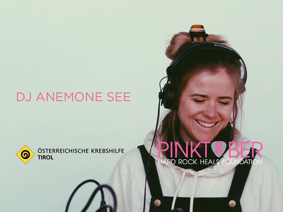 Pinktober Burger.Beats@Breaks DJ AneMone See