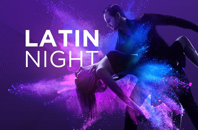 Latin Night on the Patio!