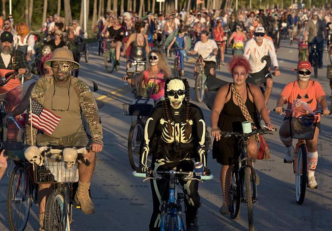 Zombie Bike Ride Watch Party