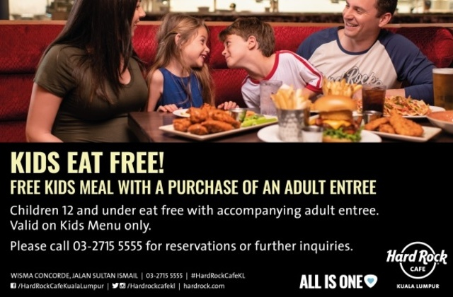 Kids Eat Free Every Day