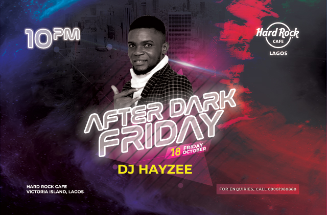 After DARK WITH DJ HAYZEE