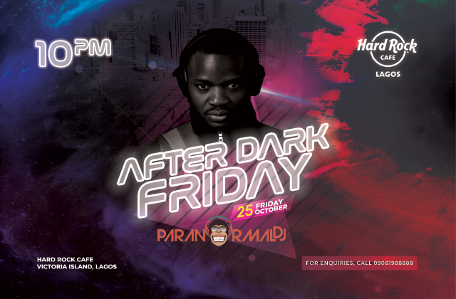 AFTER DARK WITH Paranormal Dj