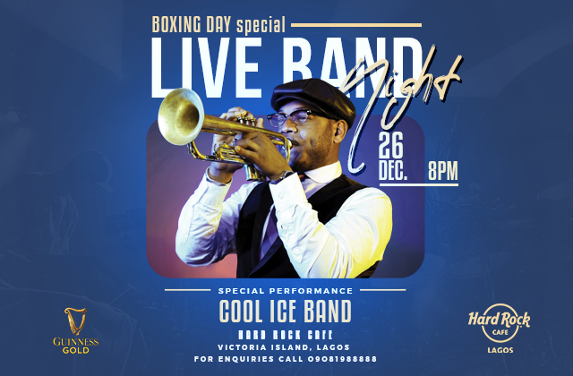 BOXING DAY  special -COOL ICE BAND