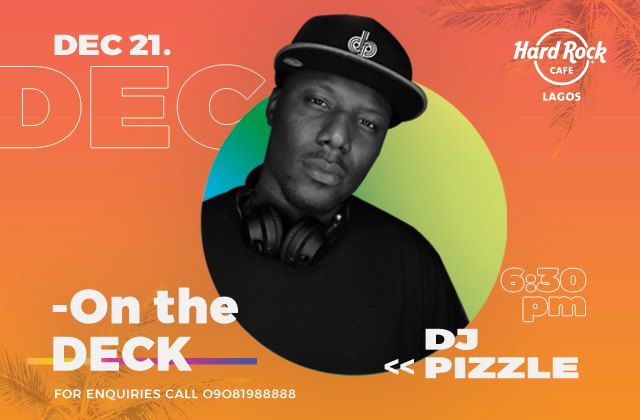 DJ PIZZLE- ON THE DECK