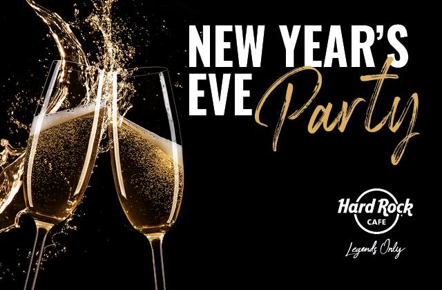 Celebrate NYE in Hard Rock style!