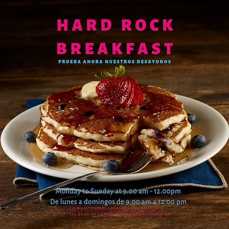 Breakfast at Hard Rock Cafe