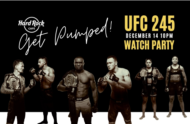 UFC 245 WATCH PARTY