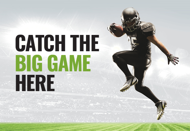 Get ready for the Big Game!