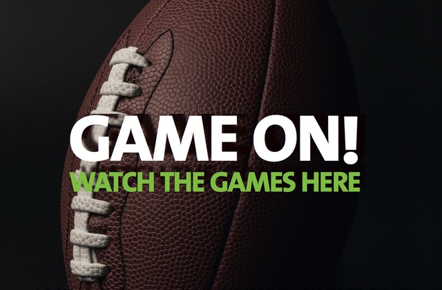 GAME ON! WATCH THE GAMES HERE!