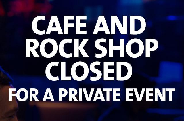 Cafe Closing at 6pm