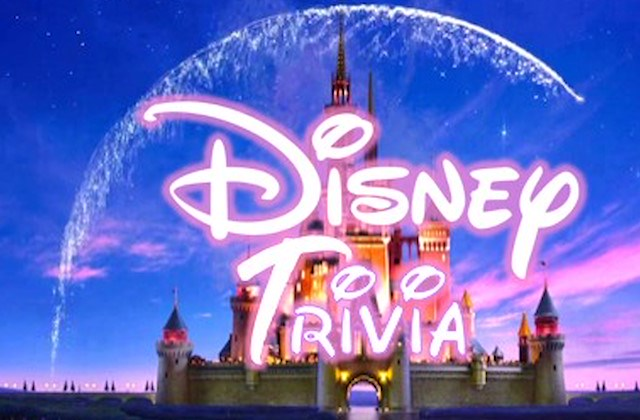 Disney Animation Trivia Night