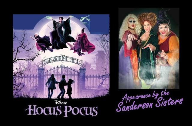 Hocus Pocus Movie Night with The Sanderson Sisters