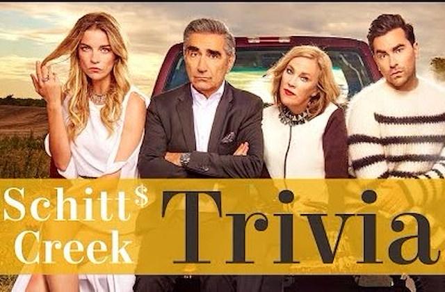 My TV Pittsburgh presents Schitt's Creek Trivia Night