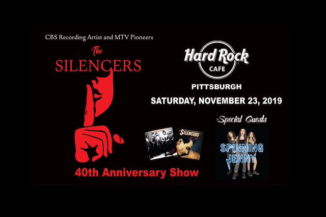 SOLD OUT:  The Silencers 40th Anniversary Show
