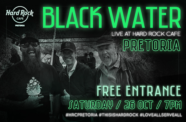 Black Water live on our stage!!