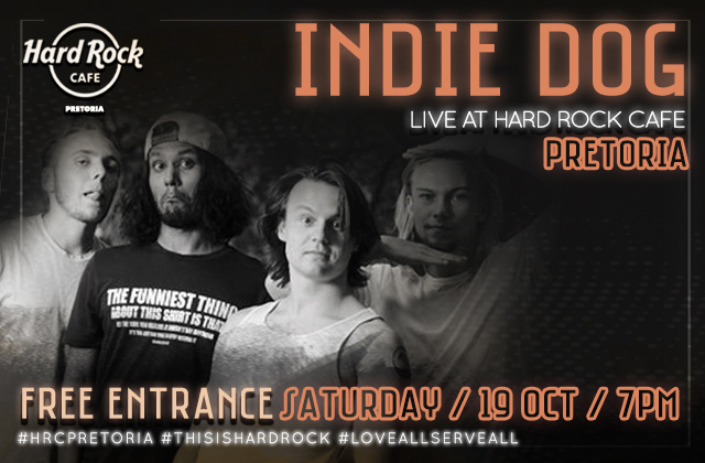Indie Dog performing live on our stage!!