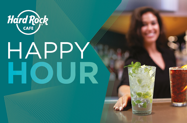 HAPPY HOUR & LATE NIGHT HAPPY HOUR!