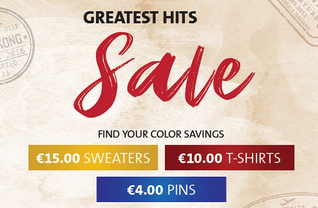 GREATEST HITS SALE