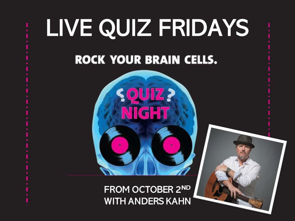 LIVE QUIZ WITH ANDERS KAHN