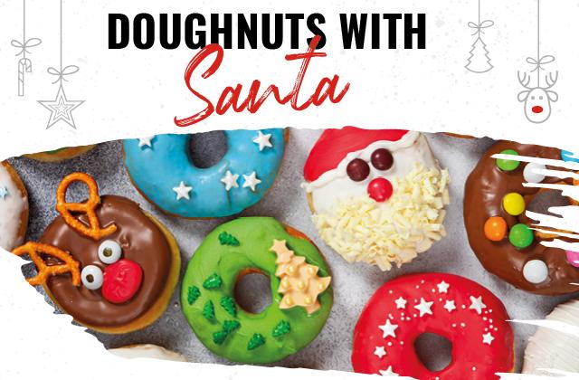 Doughnuts with Santa - Santa Claus is coming to town!